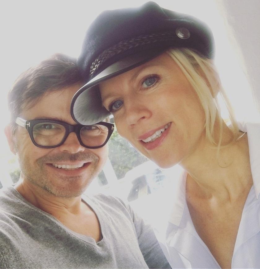Schnell noch ein Selfie mit Kristian Schuller!