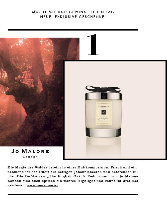 Die tolle Duftkerze von Jo Melone London könnt ihr jetzt auf meinem Instagram gewinnen.