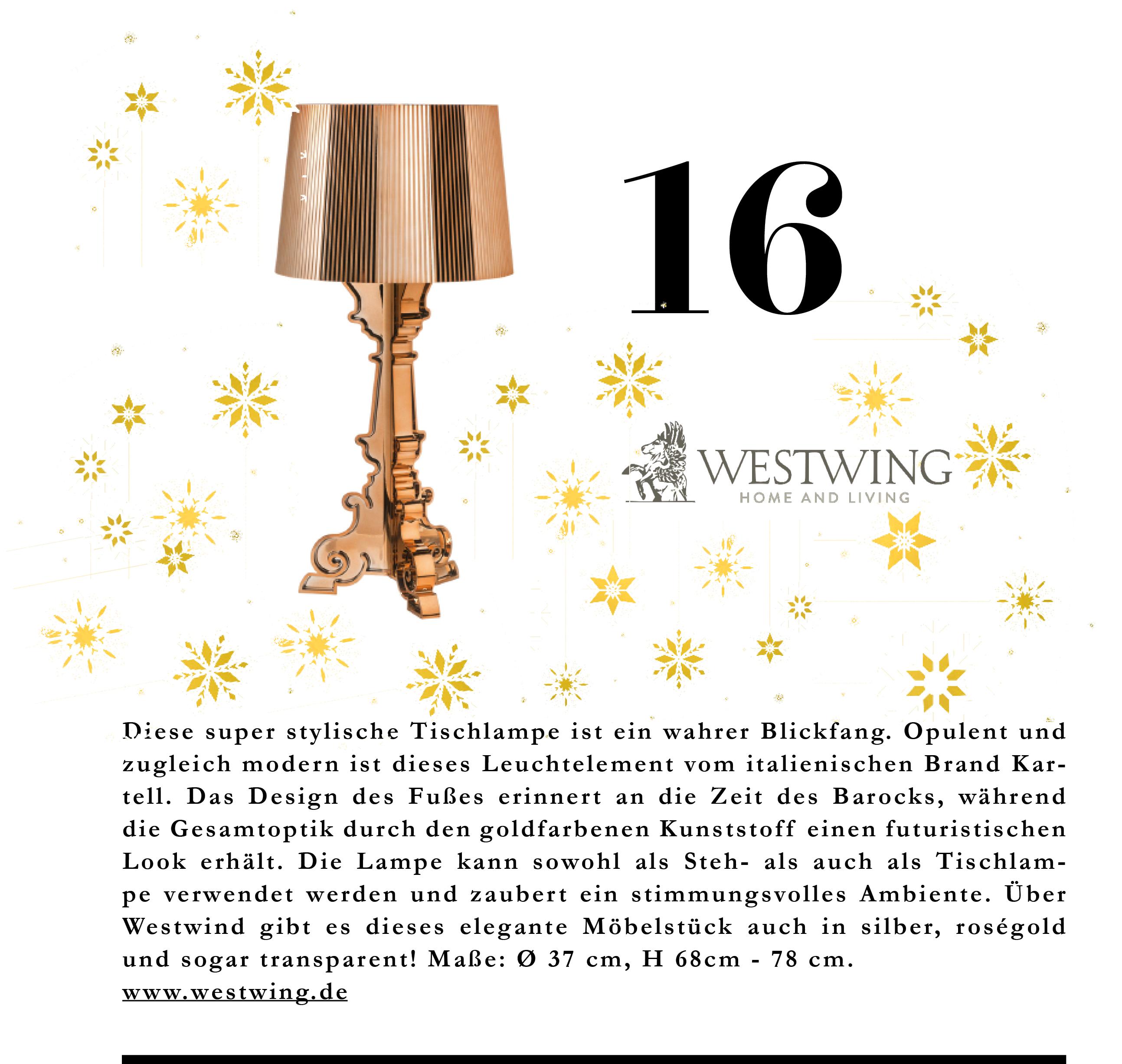 Diese Tischlampe von Westwing ist in absolut jedem Zimmer ein wahrer Blickfang