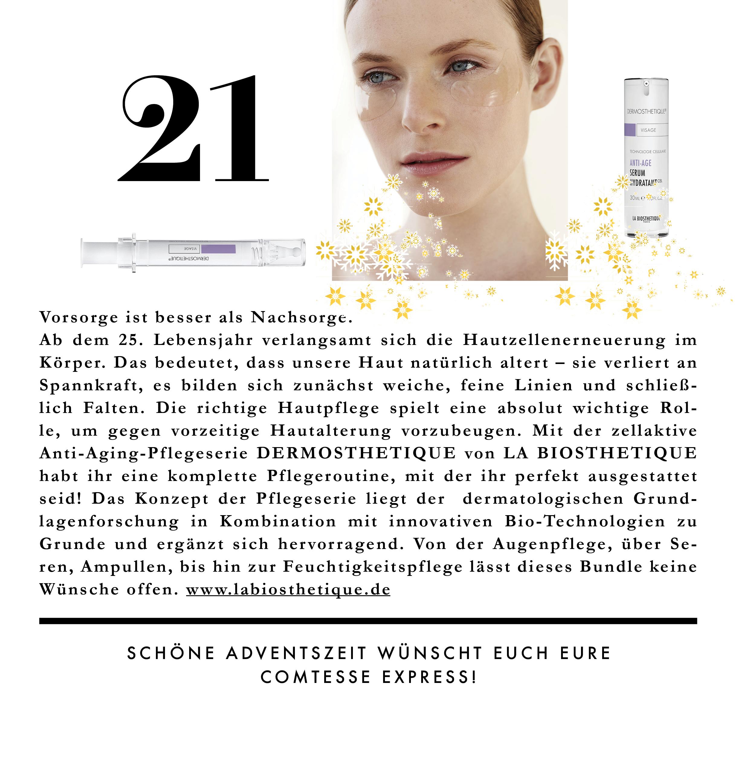 Skincare von La Bioshetique - ein ganzes Set für eine komplette Routine.